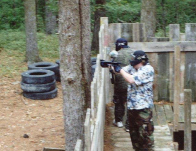 Paintball birthday bash